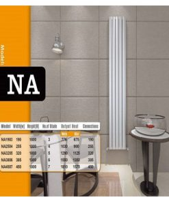 رادیاتورهای استیل دیما رادیاتور مدل NA